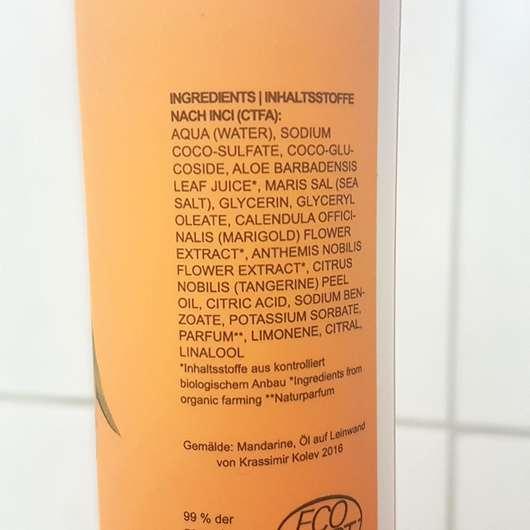 STYX Naturcosmetic Mandarine Duschgel - Inhaltsstoffe