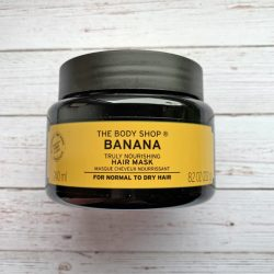 Produktbild zu The Body Shop Banana Truly Nourishing Hair Mask