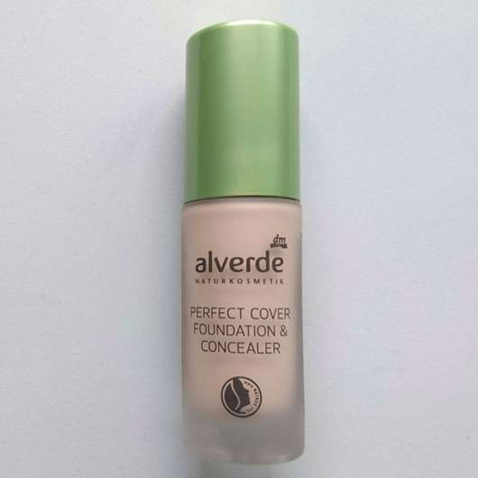 alverde Perfect Cover Foundation & Concealer, Farbe: 20 Almond