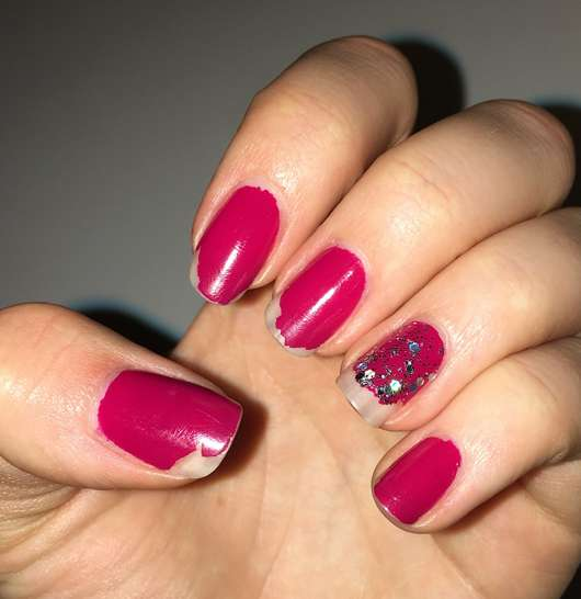 ANNY Nagellack, Farbe: 183 absolutely me - Lack nach 3 Tagen