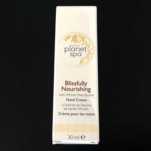 AVON planet spa Blissfully Nourishing Handcreme