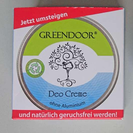 Greendor Deo Creme (ohne Aluminium)