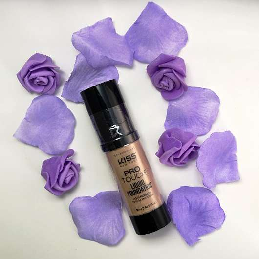 KISS Professional New York Pro Touch Liquid Foundation, Farbe: 140 Warm Nude