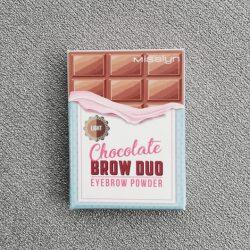 Produktbild zu Misslyn Chocolate Brow Duo Eyebrow Powder – Farbe: 2 Light Chocolate