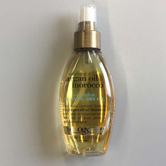 ogx renewing + argan oil of morocco weightless reviving dry Oil Spray