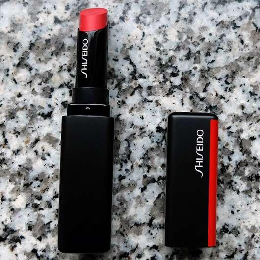 Shiseido VisionAiry Gel Lipstick, Farbe: 225 High Rise - geöffnet