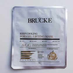 Produktbild zu BRUCKE Keep Cooling Foilgel Lifting Mask