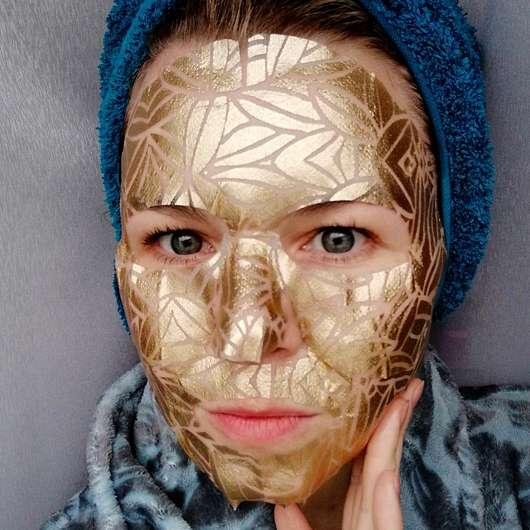 BRUCKE Keep Cooling Foilgel Lifting Mask - Maske im Gesicht