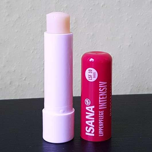 ISANA Lippenpflege Intensiv (mit Sheabutter & Traubenkernöl) - geöffnet