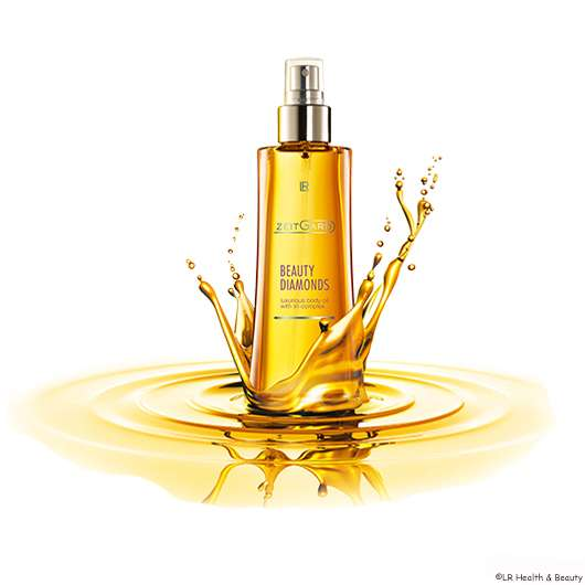 LR ZEITGARD Beauty Diamonds Luxurios Body Oil zu gewinnen