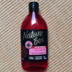 Produktbild zu Nature Box Granatapfel-Öl Duschgel