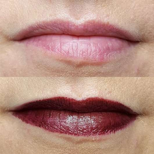 Shiseido VisionAiry Gel Lipstick, Farbe: 224 Noble Plum - Lippen ohne und mit Farbe