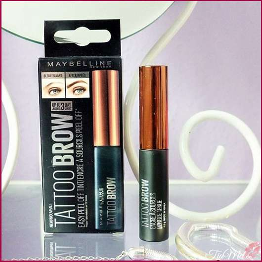 <strong>Maybelline New York</strong> Tattoo Brow Easy Peel Off Tint - Farbe: 2 medium brown
