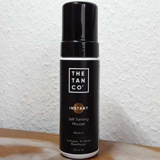 The Tan Co. INSTANT Self Tanning Mousse, Farbe: Medium (inkl. Tanning-Handschuh)