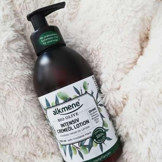 alkmene Bio Olive Intensiv Cremeöl Lotion