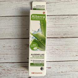 Produktbild zu Alterra Naturkosmetik Augenfluid Bio-Aloe Vera & Gletscherwasser