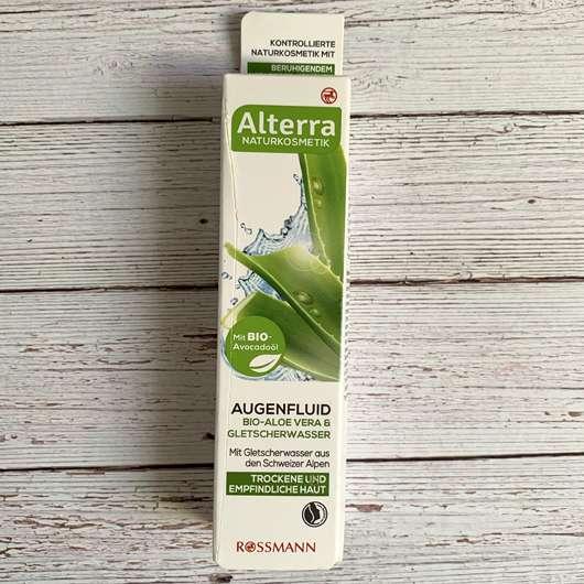 Alterra Augenfluid Bio-Aloe Vera & Gletscherwasser