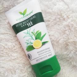 Produktbild zu cosnature Detox Nacht-Creme Grüner Tee