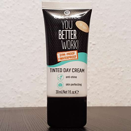 essence you better work! tinted day cream, Farbe: 10 light