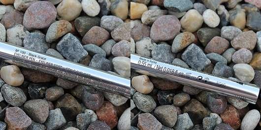 L.O.V RoyaLINER Eyeliner Pen, Farbe: 100 Black Grace - Details