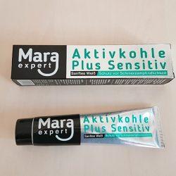 Produktbild zu MARA EXPERT Aktivkohle Plus Sensitiv Zahncreme
