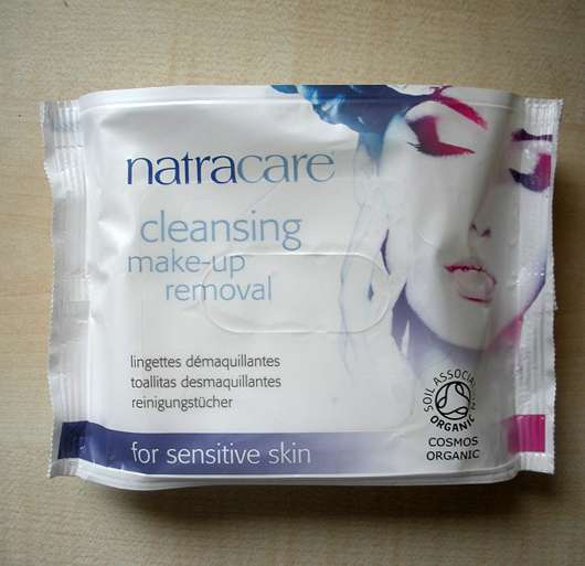 Natracare cleansing make-up removal