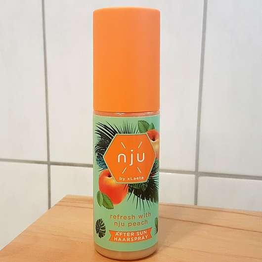 nju by xLaeta refresh with nju peach After Sun Haarspray (LE)