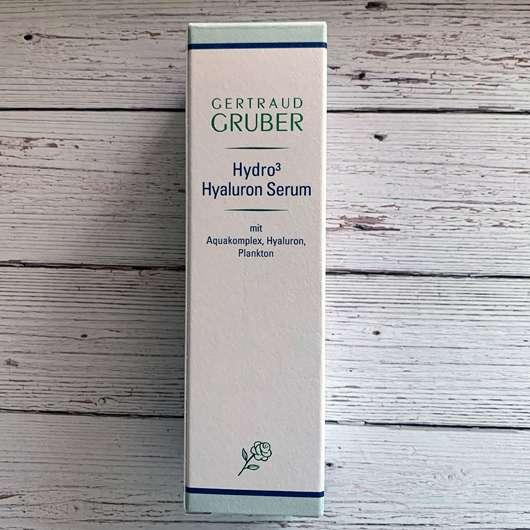 Gertraud Gruber Hydro3 Hyaluron Serum
