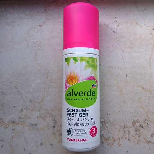 <strong>alverde Naturkosmetik</strong> Schaumfestiger Bio-Lotusblüte Bio-Violetter Reis