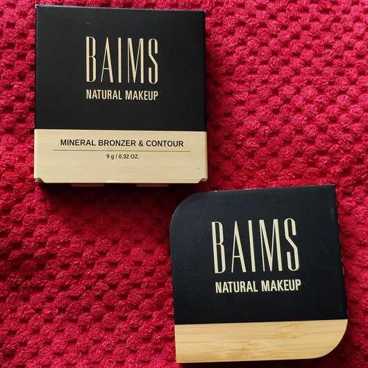 BAIMS Natural Makeup Mineral Bronzer & Contour, Farbe: 20 Amber