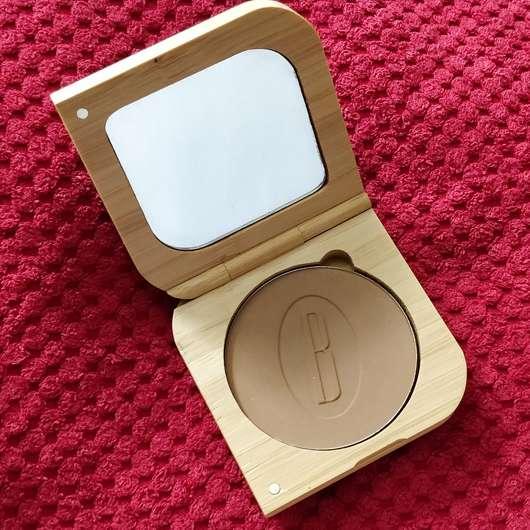 BAIMS Natural Makeup Mineral Bronzer & Contour, Farbe: 20 Amber - geöffnet