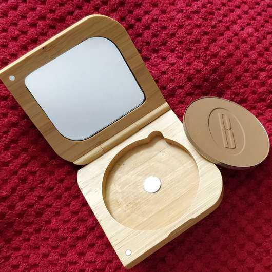 BAIMS Natural Makeup Mineral Bronzer & Contour, Farbe: 20 Amber - Refill-Prinzip