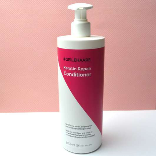 #GEILEHAARE Keratin Repair Conditioner