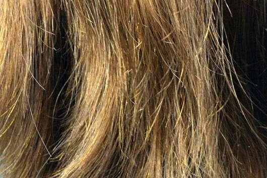 #GEILEHAARE Keratin Repair Shampoo - Haare vorher