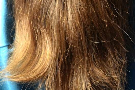 #GEILEHAARE Keratin Repair Shampoo - Haare nachher