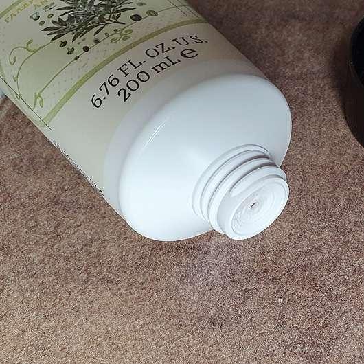 KORRES Olive & Olivenblüte Bodymilk - Öffnung