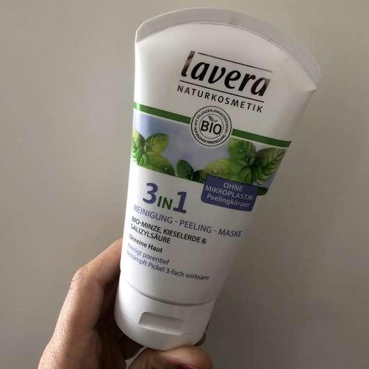 <strong>lavera Naturkosmetik</strong> 3in1 Reinigung - Peeling - Maske (ohne Mikroplastik)