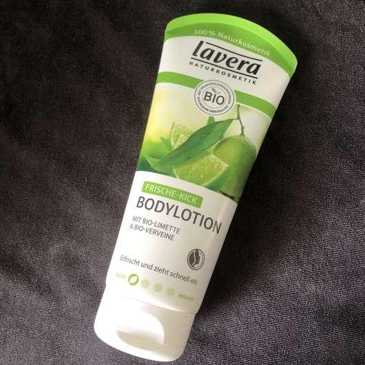<strong>lavera Naturkosmetik</strong> Frische-Kick Bodylotion mit Bio-Limette & Bio-Verveine