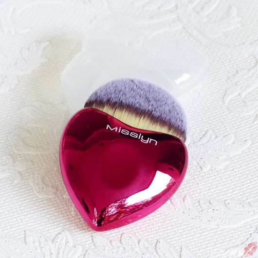 Misslyn Lovely Beauty Brush, Farbe: Rot (LE)