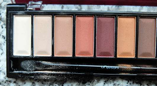 Misslyn Must-Have Eyeshadow Shades, Farbe: Shades Of Burgundy