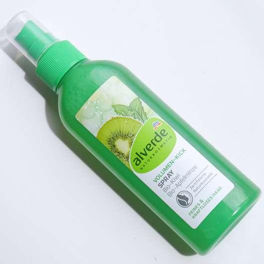alverde Volumen-Kick Spray Bio-Kiwi Bio-Apfelminze