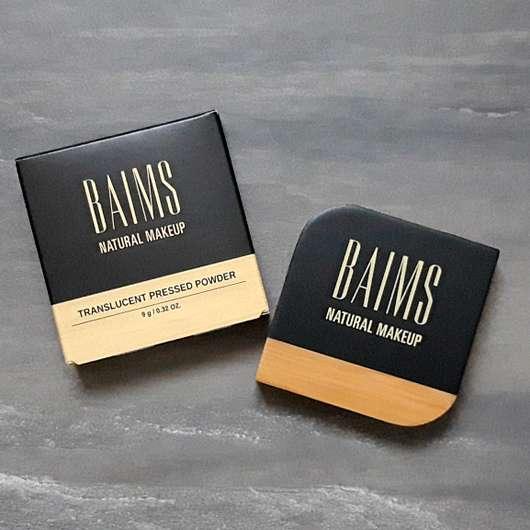 BAIMS Natural Makeup Translucent Pressed Powder, Farbe: 10 Crystal