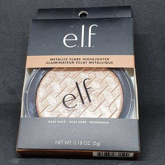 e.l.f. Cosmetics Metallic Flare Highlighter, Farbe: Rose Gold