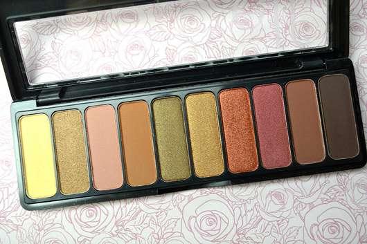 e.l.f. Cosmetics Rose Gold Eyeshadow Palette, Farbe: Sunset - geöffnet