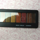 e.l.f. Cosmetics Rose Gold Eyeshadow Palette, Farbe: Sunset
