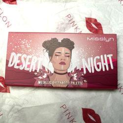Produktbild zu Misslyn Desert Night Metallic Eyeshadow Palette – Farbe: 02 Flaming Eyes (LE)