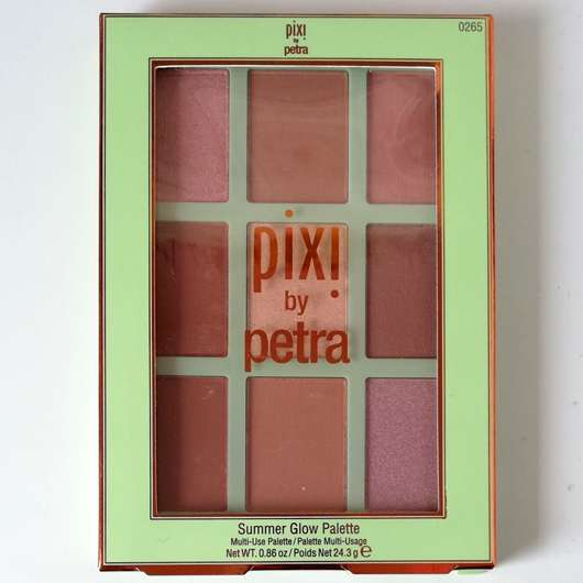 <strong>Pixi</strong> Summer Glow Palette - Farbe: Sheer Sunshine
