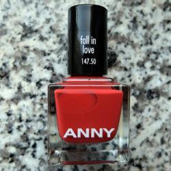 Produktbild zu ANNY Cosmetics Nagellack – Farbe: fall in love