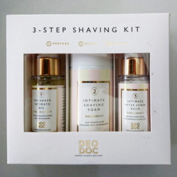 Produktbild zu DeoDoc 3 Step Shaving Kit
