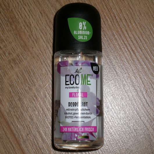 <strong>ECOME</strong> my lovely deo Floral Deodorant Roll-On